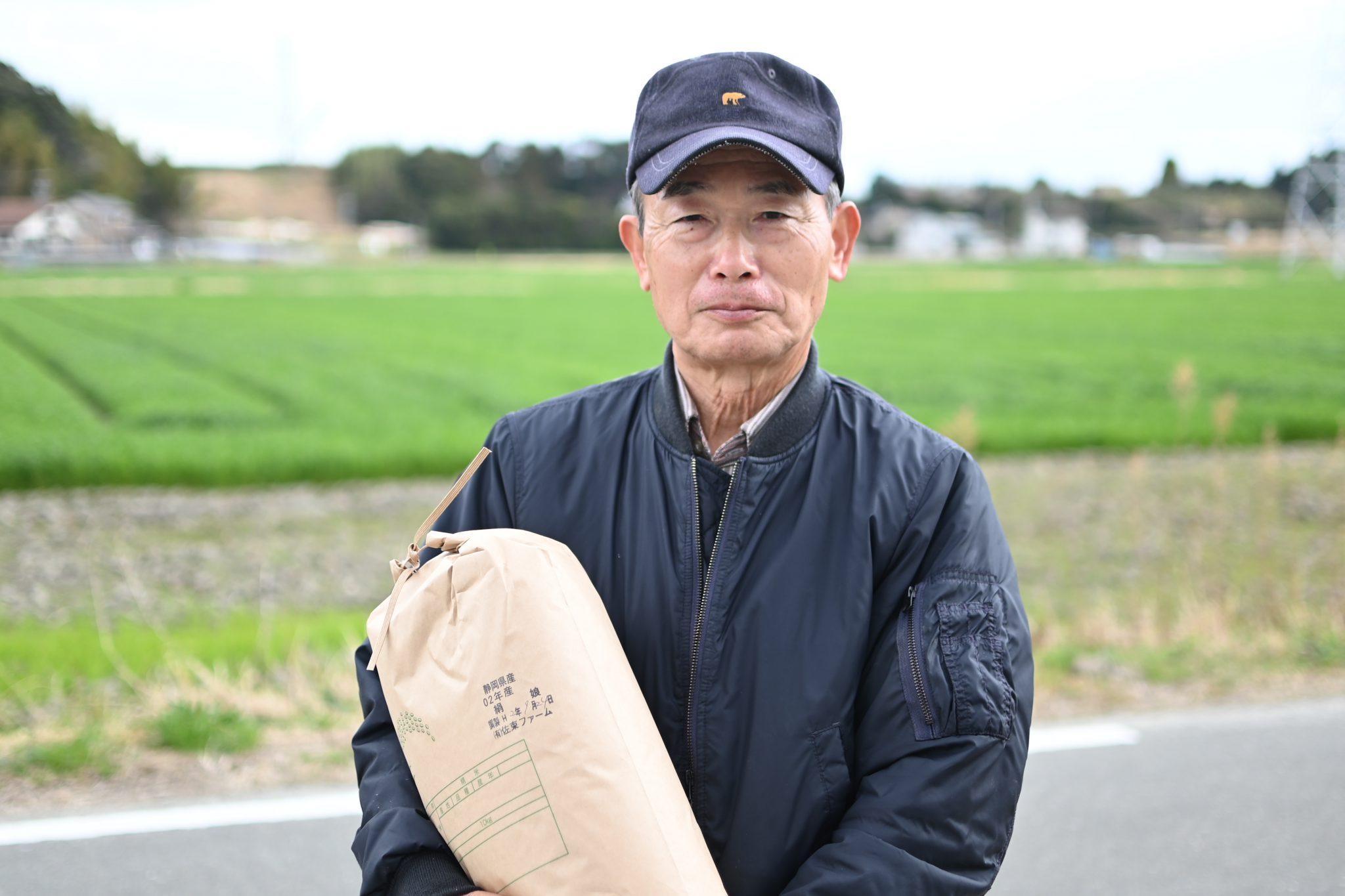 有限会社佐束(さずか)ファーム 代表取締役社長 飯田政明さん